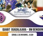 Quabit BM Guadalajara recibe a BM Benidorm, un equipo aguerrido y completo