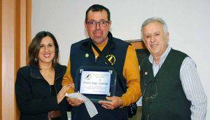Ramírez entrega los Premios del VI Concurso-Liguilla de canto timbrado español en El Casar