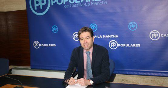 Robisco pregunta a Page si los profesionales del transporte sanitario de Guadalajara, Ciudad Real y Albacete van a cobrar sus nóminas con normalidad en diciembre