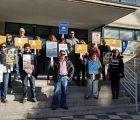Tercera jornada de huelga en la biblioteca pública Fermín Caballero de Cuenca
