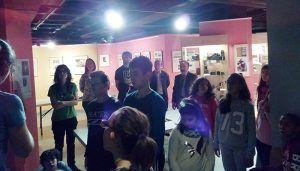 Un centenar de alumnos del CEIP Alto Tajo visitan el Centro de la Fotografía Histórica de la Diputación de Guadalajara