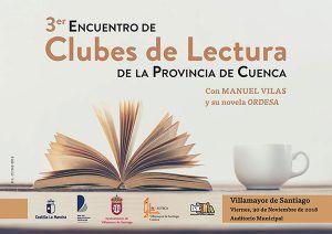Un total de 23 clubes de lectura de la provincia y más de 300 participantes se darán cita este viernes en Villamayor de Santiago