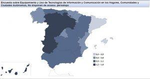 Unión de Uniones señala que aún queda mucho por hacer para reducir la brecha digital entre el medio rural y el urbano