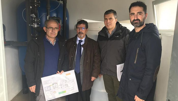 La Junta invierte cerca de 86.000 euros en mejorar la calidad del agua en el municipio de Campillo de Altobuey