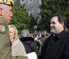 Núñez felicita a la Academia de Infantería de Toledo y da las gracias a las Fuerzas Armadas por ser los garantes de la libertad