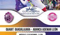 Quabit BM Guadalajara quiere despedir la primera vuelta luchando