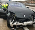Aparatoso accidente de tráfico de Ángel Máriscal