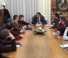 Ayuntamiento de Cuenca y patronal repasan algunos aspectos de la regulación de la carga y descarga en el Casco Antiguo