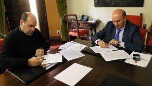Ayuntamiento de Sigüenza y Obispado renuevan su convenio para restaurar edificios religiosos en las pedanías de Sigüenza