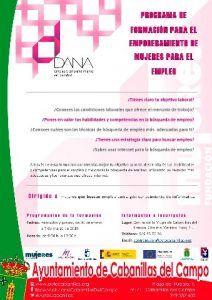 Cabanillas acogerá un taller del Proyecto DANA, destinado a mujeres desempleadas