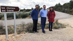 Diputación de Cuenca acondiciona el camino de acceso a Las Chorreras desde Víllora con una inversión de 73.000 euros