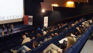 Doscientas personas asisten al preestreno del capítulo de la serie 'Ciudades Patrimonio' de RTVE dedicado a Cuenca
