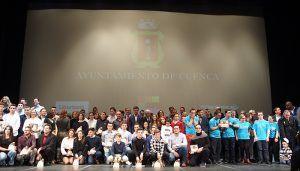 El Ayuntamiento de Cuenca reconocerá el esfuerzo de un centenar de deportistas que han destacado en 2018