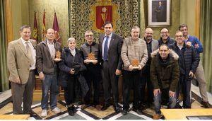 El Ayuntamiento de Cuenca rinde homenaje a los trabajadores municipales que se han jubilado en  2018