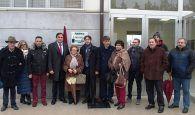 El Ayuntamiento de Cuenca y la Unión Balompédica Conquense recuerdan a Ángel Pérez con una placa en su honor