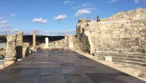 El Gobierno regional invertirá 43.000 euros en la sustitución del solado del escenario del Teatro Romano de Segóbriga