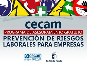 Campaña de prevención de riesgos laborales CECAM
