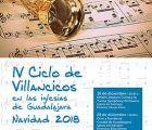 El próximo martes arranca en Guadalajara el IV Ciclo de Villancicos