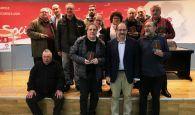El PSOE de Cuenca capital homenajea a los afiliados que llevan militando desde 1978