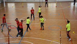 Estudiantes del Campus de Ciudad Real aprenden el modelo de educación deportiva a través del quidditch, el juego de Harry Potter