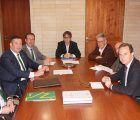 Eurocaja Rural firma con el Ayuntamiento de Alicante un préstamo de 8 millones para obras en barrios de la ciudad