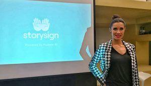 Huawei presenta StorySign App junto a Pilar Rubio y la Confederación Estatal de Personas Sordas