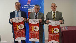 Junta y Agrupación de Hostelería de Cuenca celebran el 40 aniversario de la Constitución a través de la gastronomía