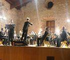 La Banda de la Diputación de Guadalajara ofreció un conciertazo en su actuación en Sigüenza conmemorando los 40 años de la Constitución