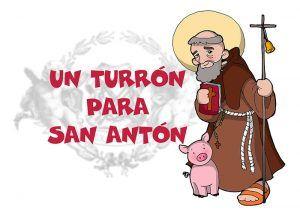 """La M. A. I. V. Hermandad Penitencial de Ntro. Padre Jesús con la Caña pone en marcha la IV edición de su campaña de recogida de dulces navideños """"Un turrón para San Antón"""""""