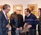 La Sala Princesa Zaida acoge una exposición de carteles de cine diseñados por José María Cruz Novillo