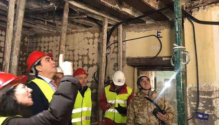Mariscal pone en valor las obras del Ayuntamiento y el Consorcio en el impulso social y económico de Cuenca