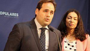 Núñez destaca que Claudia Alonso es la mejor candidata para que el PP gobierne en la capital regional