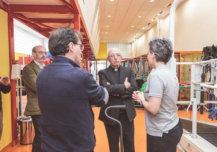 Nipace y Francisco Rodríguez de Coro realizan una donación de libros a la Diócesis de Sigüenza- Guadalajara