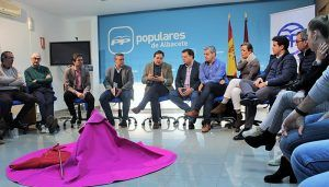 Paco Núñez defiende la Tauromaquia como eje vertebrador de la vida social y económica de los pueblos de Castilla-La Mancha