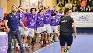 Quabit Guadalajara saca dos puntos de un intenso partido ante Logroño