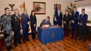 S.M. el Rey Felipe VI visita las instalaciones del GEO en el 40 aniversario de su creación