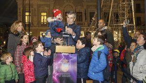 Un total de 627.550 bombillas led se encargan de iluminar la Navidad en Guadalajara