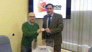Amanda Ferre es la ganadora de los 1.500 euros para comprar en los establecimientos de Cuenca