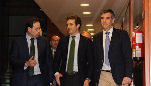 Casado augura que el PP va a gobernar con un excelente resultado en Guadalajara y en Castilla-La Mancha