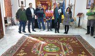 Diputación de Cuenca encarga a la Real Fábrica de Tapices la restauración de una alfombra del siglo XVIII de Cañaveras