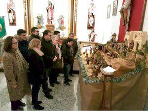 Diputación de Cuenca impulsa las tradiciones navideñas en Tarancón con su apoyo a la Asociación de Belenistas La Hoguera