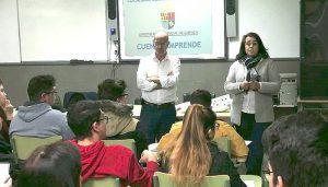Diputación de Cuenca mantiene su apuesta por fomentar la cultura emprendedora entre los jóvenes estudiantes