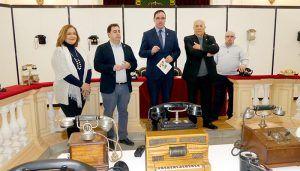 Diputación de Cuenca muestra más de un siglo de telefonía con la exposición de la colección de Francisco Page Collados