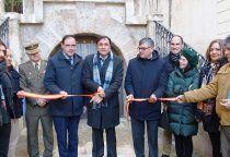 El Ayuntamiento de Cuenca inaugura el Refugio Antiaéreo de la calle Calderón de la Barca