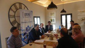 El Comité Ejecutivo de CEOE-Cepyme Cuenca señala datos positivos en la economía…., pero con aspectos mejorables