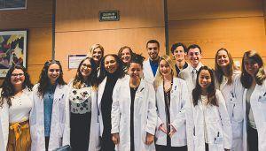 """El Hospital de Virgen de la Luz de Cuenca recibe un año más a los estudiantes norteamericanos del proyecto """"Atlantis"""""""