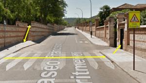 El paseo de  Francisco Aritmendi  quedará cortado al tráfico  rodado del  6 de febrero al 10 de marzo