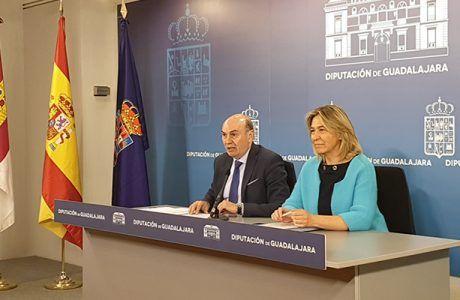 El Presupuesto de la Diputación de Guadalajara asciende a más de 61 millones de euros destinando la mitad a inversión en los municipios