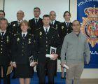 El subdelegado del Gobierno en Guadalajara agradece el trabajo de la Policía en la conmemoración de los 195 años de su fundación