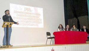 García Casado felicita al Ayuntamiento de El Provencio por su apuesta por la rehabilitación del Castillo de Santiago de la Torre